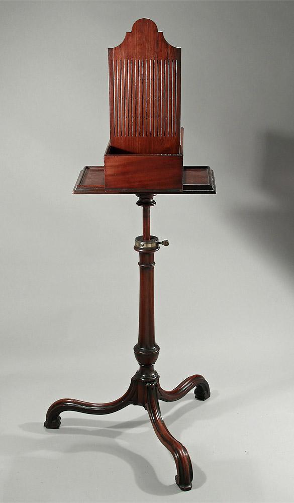Rare Early George Iii Mahogany Tape Loom Table England
