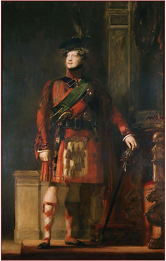 Portrait George IV, David Wilkie, 1828, The Royal Trust Collection