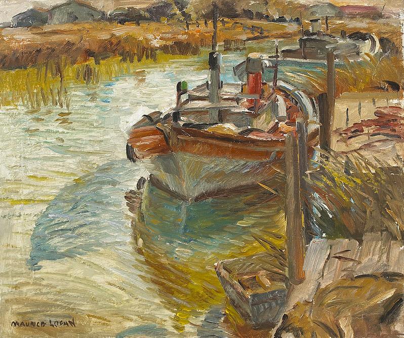 Maurice George Logan M Ford Creech Antiques