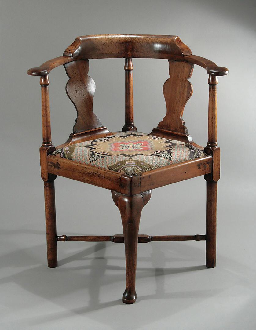 Charmant QUEEN ANNE / GEORGE I WALNUT CORNER CHAIR, England, C1710   1715; M. Ford  Creech Antiques U0026 Fine Arts, Memphis, TN
